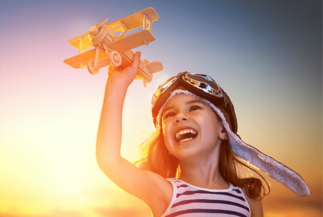 Free Airplane Rides for Kids!